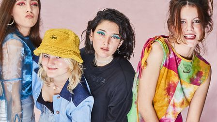 Hinds' latest album is The Prettiest Curse.