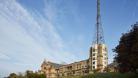A fight broke out near the palace. Picture: Alexandra Palace