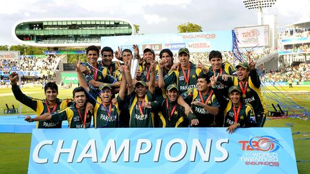 Pakistan beat Sri Lanka in the final of the ICC World T20 Cup at Lord's in 2009