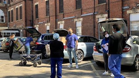 MTO UK Volunteers deliver PPE and food parcels across Haringey. Picture: MTO UK