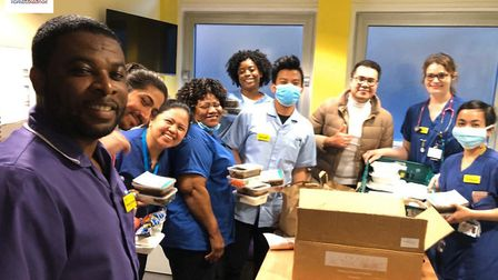 The organisation has linked up Filipino chefs to deliver Filipino food to NHS staff in London hospit