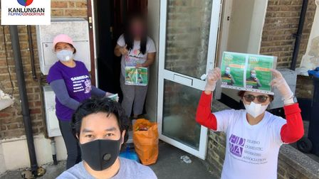 Kanlungan has responded to the Covid-19 pandemic by supporting members of the Filipino community. Pi
