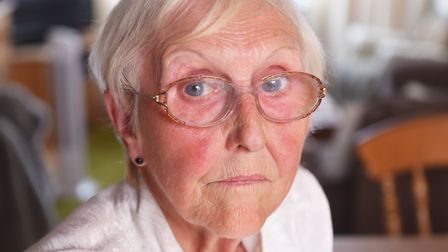Diane Geraghty,76, survived on cheese for weeks after her pension was wrongly stopped. Picture: Nick