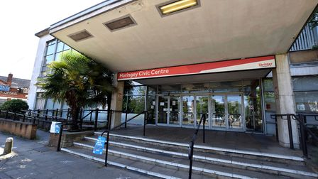 Haringey Civic Centre, home of the council which is asking for government funding to deal with the e