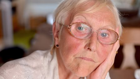 Diane Geraghty,76, at her home in Lowestoft.Picture: Nick Butcher