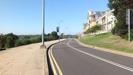 From June 2 Alexandra Palace Way will be closed between 8pm-5am. Picture: Alexandra Palace