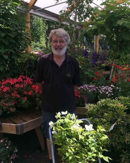 Peter Hulatt, Manager of Camden Garden Centre © Ruth Pavey