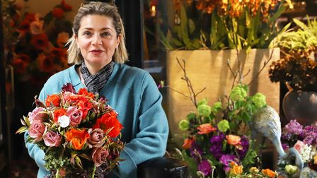 Sayeh Rafiei, head florist and director of Sayeh and Galton