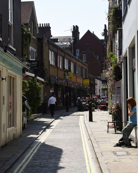 Hampstead village. Picture: Ken Mears