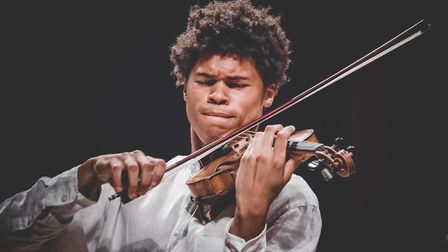 Braimah Kanneh-Mason plays at the St Jude's online Proms