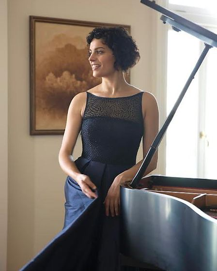 pianist Anyssa Neumann will appear in the next Zoom concert on June 17