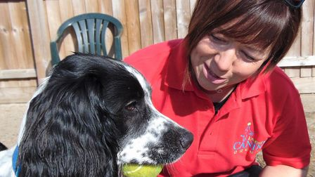 Donna White is set to open a Canine Creche in Lowestoft. Picture: Canine Creche Group