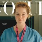 Rachel Millar on 'the new frontline' Vogue cover. Picture: Vogue/Jamie Hawkesworth