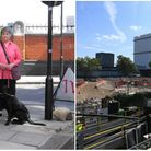 The case of Hero Granger-Taylor (left) against HS2 and its approach into Euston station (right) was