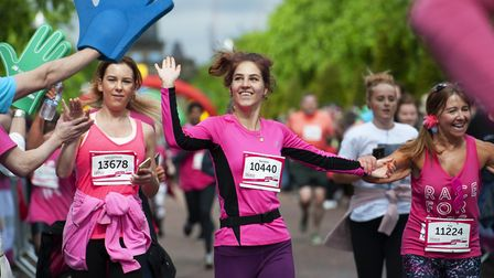 Race for Life in Glasgow in 2019.Picture: Mark Anderson