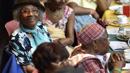 Hackney's Windrush Caribbean tea party in 2019. Picture: Adam Holt/ Hackney Council
