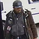 Police wish to speak to this man after a gun was pointed at a Hackney cyclist. Picture: Met Police