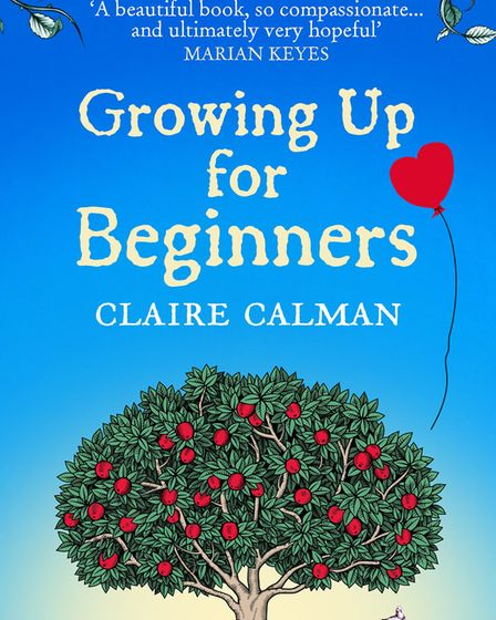 The cover of Claire's latest book