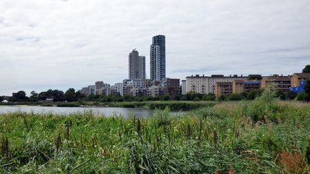 The east reservoir at Woodberry Wetlands. Picture: Peter O'Connor/Flickr (CC BY-SA 2.0)