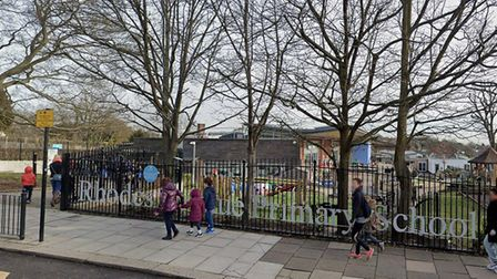 Rhodes Avenue Primary School. Picture: Google