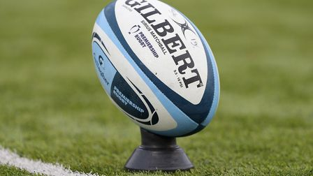 A Premiership Rugby match ball