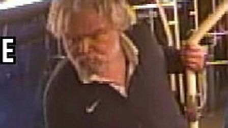 The man police want to speak to. Picture: Met Police