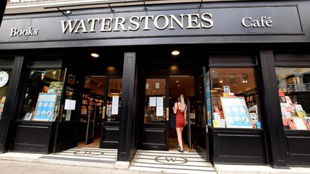 Waterstones, Hampstead High Street. Picture: Polly Hancock