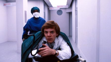 Britannia Hospital by Lindsay Anderson (1982) out now on Indicator Powerhouse Films