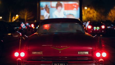 Rooftop Film Club's Drive-In at Alexandra Palace