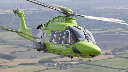 Charities like The Air Ambulance Service face huge losses due to the coronavirus lockdown. Picture: