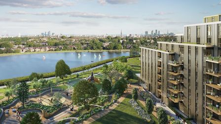The Woodberry Down regeneration project is one of Europe's largest single site regeneration projects