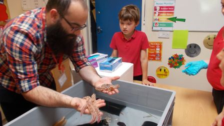 Red Oak Primary School pupils were treated to a science experience day. Picture: Red Oak Primary Sch