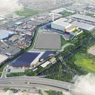An artist's impression of what the new energy recovery facility could look like. Picture: Grimshaw A