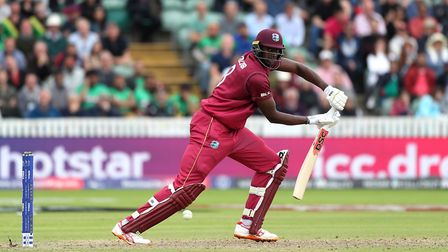 West Indies' Jason Holder during the 2019 ICC World Cup in England