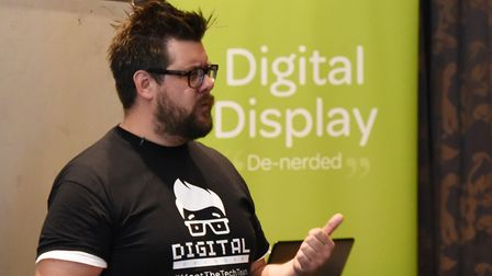 Jamie Brown also runs the Archant Digital Decoded sessions. Picture: Ken Mears