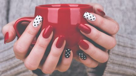 Have fun experimenting with different nail shades and invest in a nail kit you can use at home. Pict