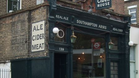 The Southampton Arms in Kentish Town has won North London?s Cider Pub of the Year after many years o