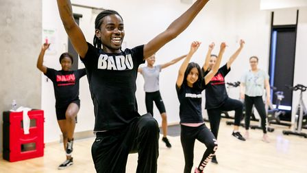 Local organisation Badu Sports, which is based in Olympic Park's Here East, hosts dance sessions. Pi