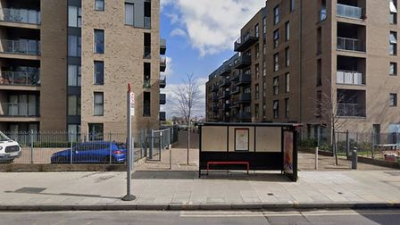 Green Lanes Walk where the boy was stabbed. Picture: Google Maps