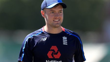 Middlesex bowler Tom Helm on England Lions duty