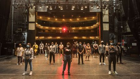 A crowd funder for the Hackney Empire raised �40,000 in just one week. Picture: David_Monteith-Hodge