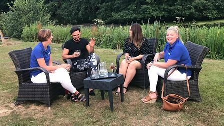 Cancer support group Can-cervive was invited to attend a meet and greet with Gareth Gates. Picture: