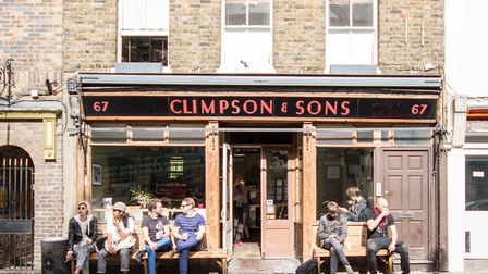 Climpson and Son's not only trades at Broadway Market but also runs a cafe there and one in Spitalfi