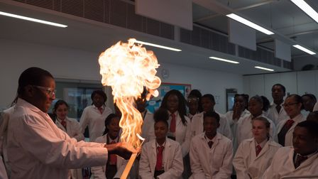 Cardinal Pole Catholic School has been awarded a grant for science subjects. Picture: Adrian Salisbu