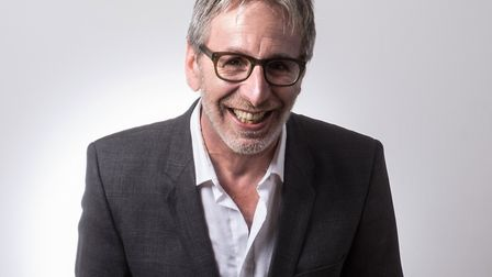 East Finchley Comedian Ian Stone author of To Be Someone