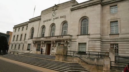 Hackney Town Hall:Picture Ken Mears