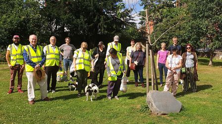 The helpers stepped in from April 23 to keep the cemetery open and make sure residents had a local s