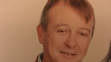 David Dyer has been missing since Saturday. Photo: Suffolk Constabulary.