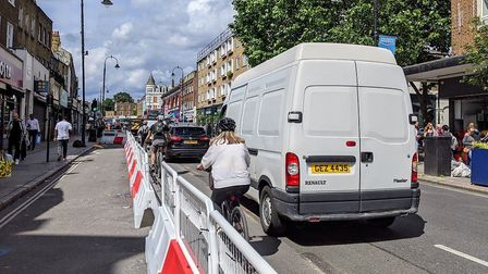 Kentish Town Road. Picture: Camden Cyclists