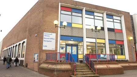 Lowestoft library and record office.Picture: Nick Butcher